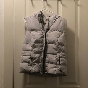 Abercrombie and Fitch Down Vest with Pockets